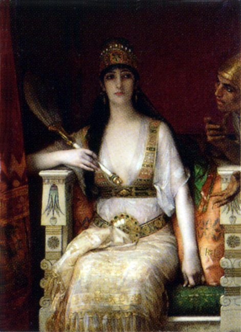 QueenVashtiRefusingthePresenceofKingAhasuerus1880